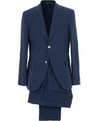 Oscar Jacobson Egel Linen Suit Blue men One size Blå