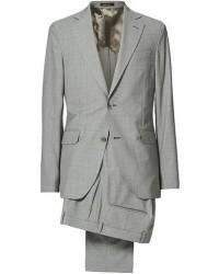 Oscar Jacobson Egel Soft Super 130s Suit Light Grey men 48 Grå