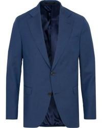 Oscar Jacobson Fogerty Wool Blazer Blue men 52 Blå