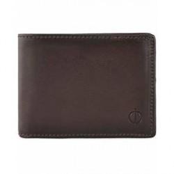 Oscar Jacobson Leather Wallet Dark Brown