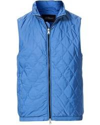 Oscar Jacobson Liner Waistcoat Light Blue men 50 Blå