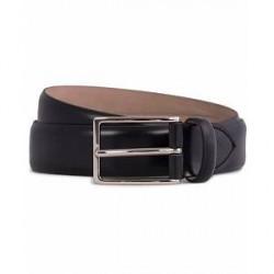 Oscar Jacobson Suit Belt 3 cm Black