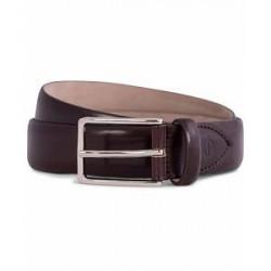 Oscar Jacobson Suit Belt 3 cm Chestnut