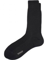 Pantherella Naish Merino/Nylon Sock Black men 10 (39) Sort