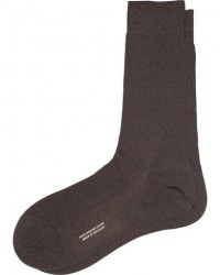Pantherella Naish Merino/Nylon Sock Chocolate men 10,5 (40-41) Brun
