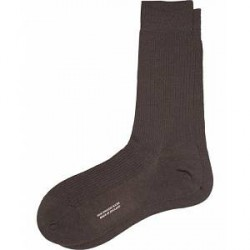 Pantherella Naish Merino/Nylon Sock Chocolate