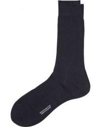 Pantherella Vale Cotton Socks Navy men 11 (42) Blå