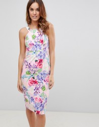 Paper Dolls Print Dress - Multi