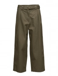 Paperbag Waist Pant W/ Belt