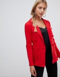 Parisian double breasted blazer - Red