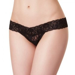 Passionata Crazy Lace String - Black * Kampagne *