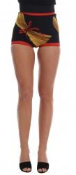 Pasta Sicily Silk Mini Hot Pants Shorts