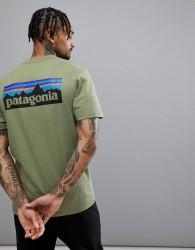 Patagonia P-6 Back Logo Responsibili-Tee T-Shirt in Green - Green