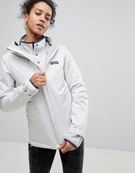 Patagonia Torrentshell Full Zip Hooded Jacket in White - White