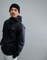 Patagonia Torrentshell Full Zip Hooded Jacket Waterproof in Black - Black