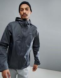 Patagonia Torrentshell Full Zip Hooded Jacket Waterproof in Dark Grey - Grey