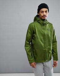 Patagonia Torrentshell Full Zip Hooded Jacket Waterproof in Green - Green
