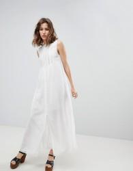 Paul & Joe Sister Button Front Midi Dress - White