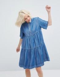 Paul & Joe Sister Denim Smock Dress - Blue
