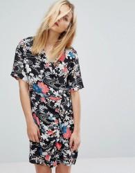 Paul & Joe Sister Floral Print Wrap Tea Dress - Multi