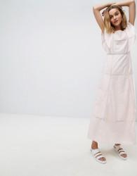 Paul & Joe Sister Frill Maxi Dress - Pink