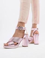 Paul & Joe Sister Metallic Heeled Shoe - Pink