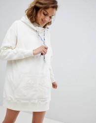 Paul & Joe Sister oversized hooded sweat dress - Cream