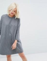 Paul & Joe Sister Pinstripe Dress - Grey