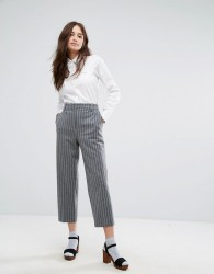 Paul & Joe Sister Pinstripe Trouser - Grey