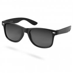 Paul Riley Skinnende Sort Solbrille