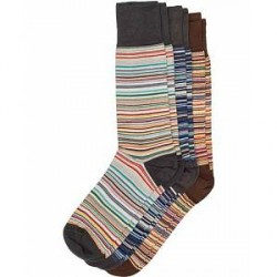 Paul Smith 3-Pack Classic Sock Multistripe