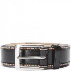 Paul Smith Accessories M1 A5527 AEDGES Bælter Black