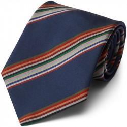 Paul Smith Accessories Stripe Tie Blå