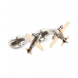 Paul Smith Aeroplane Cufflinks Copper