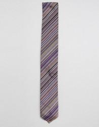 Paul Smith classic stripe silk tie - Multi