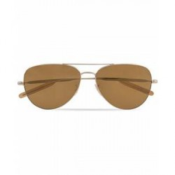 Paul Smith Davison Sunglasses Soft Gold Mirror
