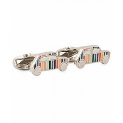 Paul Smith Mini Car Enamel Cufflinks Multi