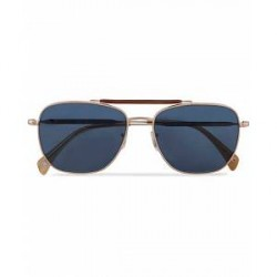 Paul Smith Roark Sunglasses Soft Gold/Blue