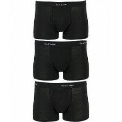 Paul Smith Three Pack Trunk Black