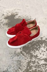 Pavement - Sko - Ava Loop - Red Suede