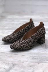 Pavement - Sko - Helena - Leopard Suede
