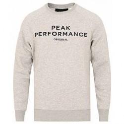 Peak Performance Classic Crew Neck Sweatshirt Grey