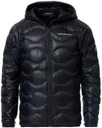 Peak Performance Helium Hood Jacket Black men L Sort