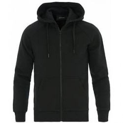 Peak Performance Logo Full Zip Hoodie Black