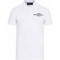 Peak Performance Logo Pique White