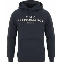 Peak Performance M Logo Hoodie Navy