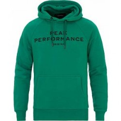 Peak Performance M Logo Hoodie Shady Green