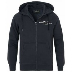 Peak Performance M Logo Zip Hoodie Navy