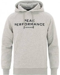 Peak Performance Original Hoodie Grey men L