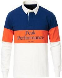 Peak Performance Rugby Blue/Orange/White men M Orange
